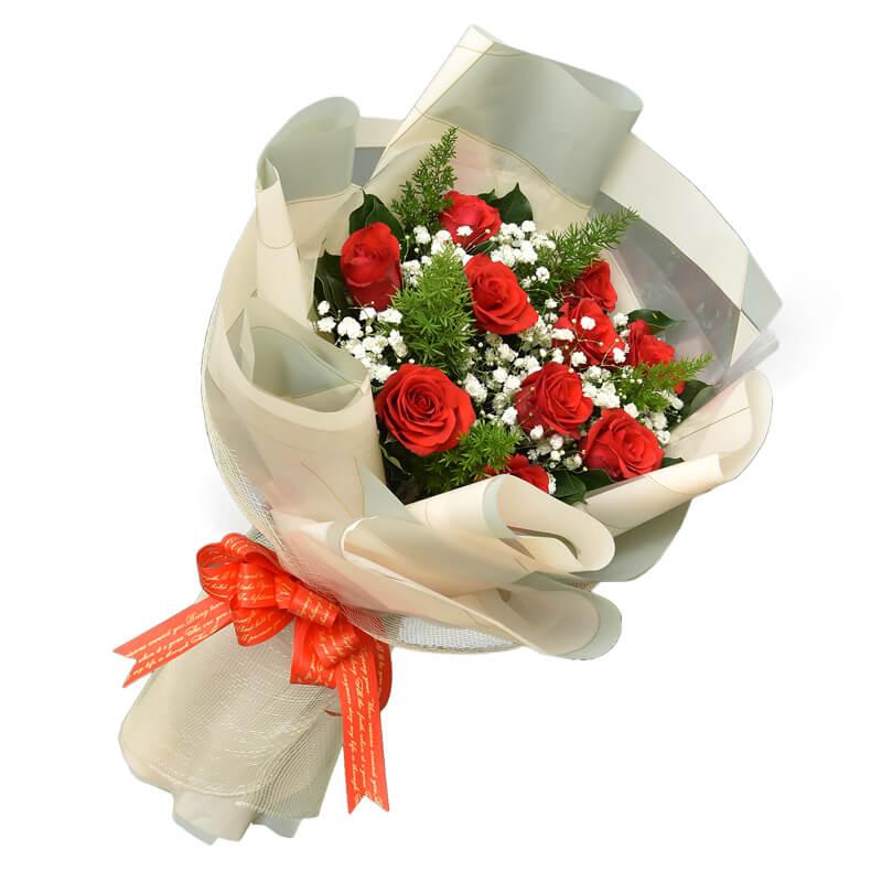 """Hoa sinh nhật """"Hoa hồng đỏ"""""""