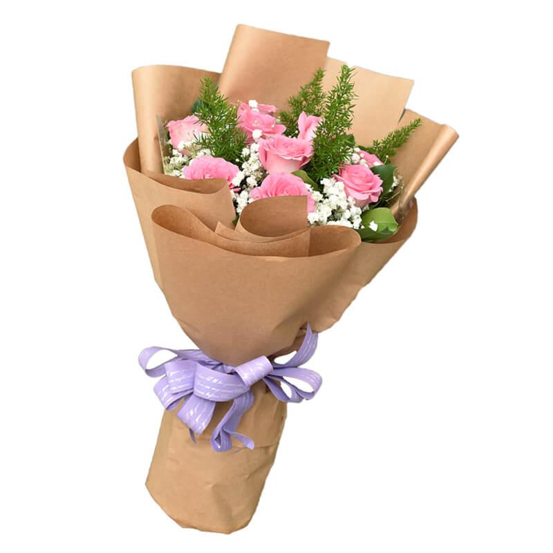 """Hoa sinh nhật """"Hoa hồng sen"""""""