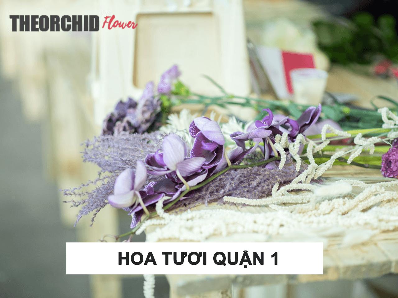 Địa chỉ shop hoa tươi quận 1 TheOrchid Flower HCM