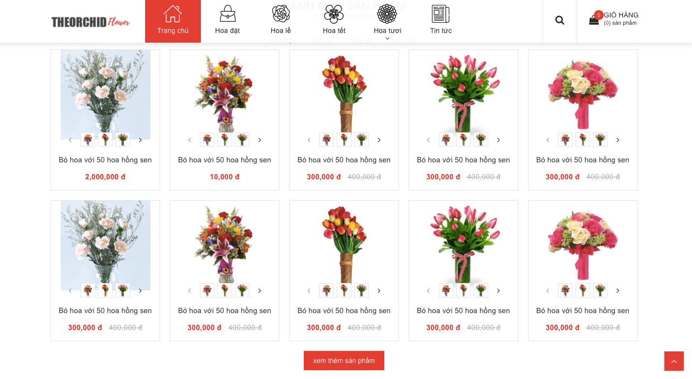 đặt mua hoa tươi online