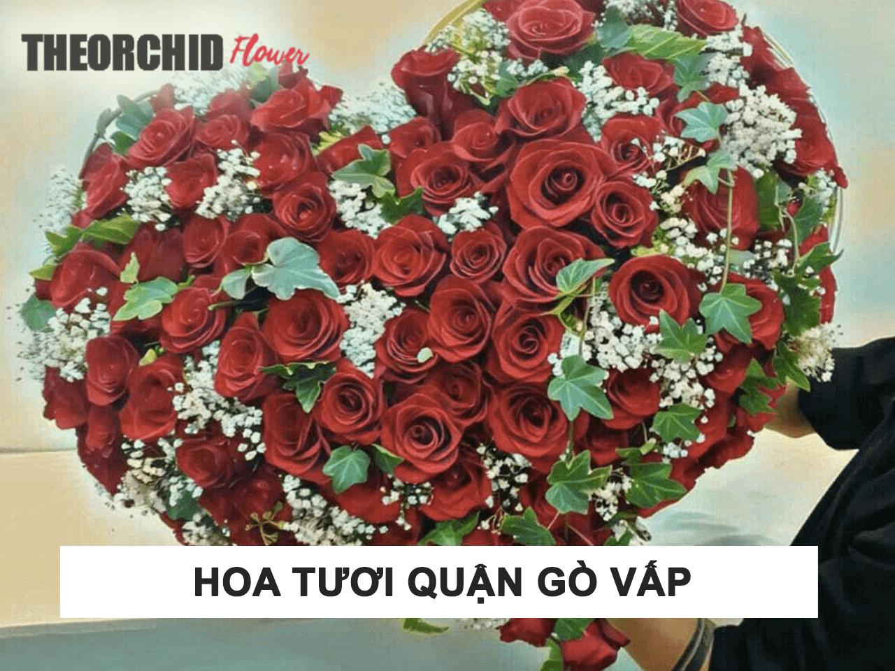 Tiệm cửa hàng đặt hoa tươi Gò Vấp TheOrchid Flower