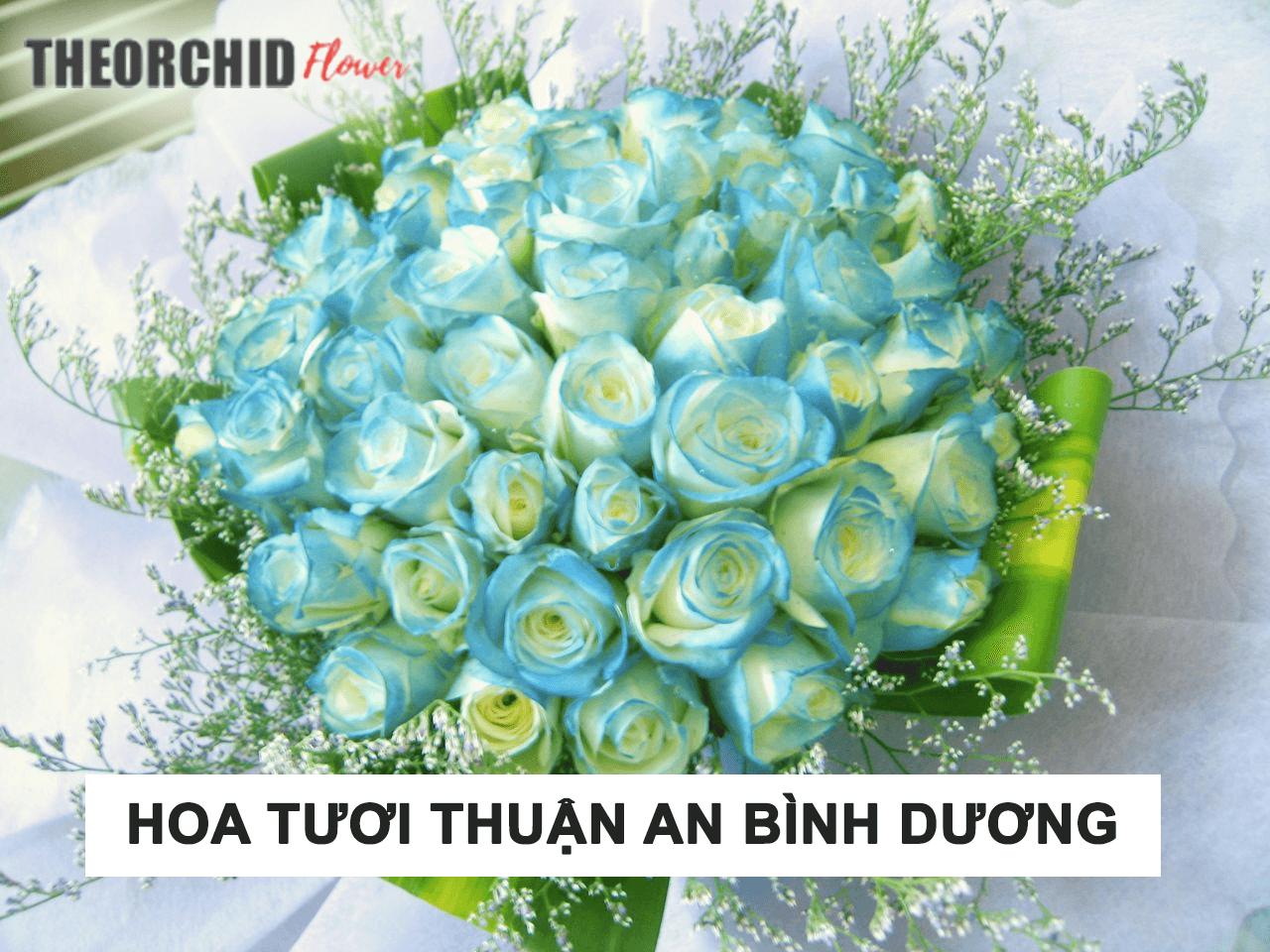 Cửa hàng hoa tươi Thuận An số 1 Bình Dương Giao tận nơi