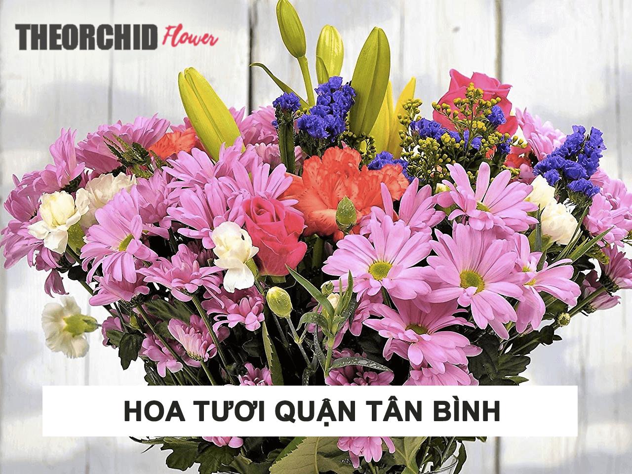 Cửa hàng shop hoa tươi quận Tân Bình giá rẻ nhất HCM