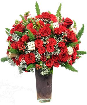 """Bình hoa hồng """"Red Roses"""""""