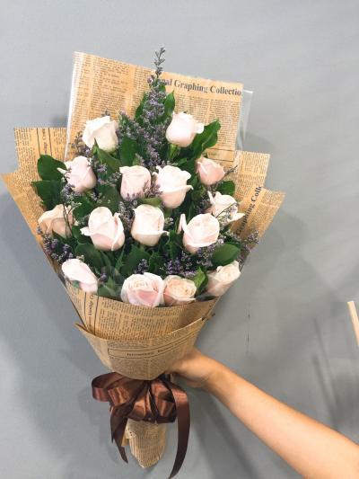 """Bó hoa hồng """"Tình mộng mơ"""""""