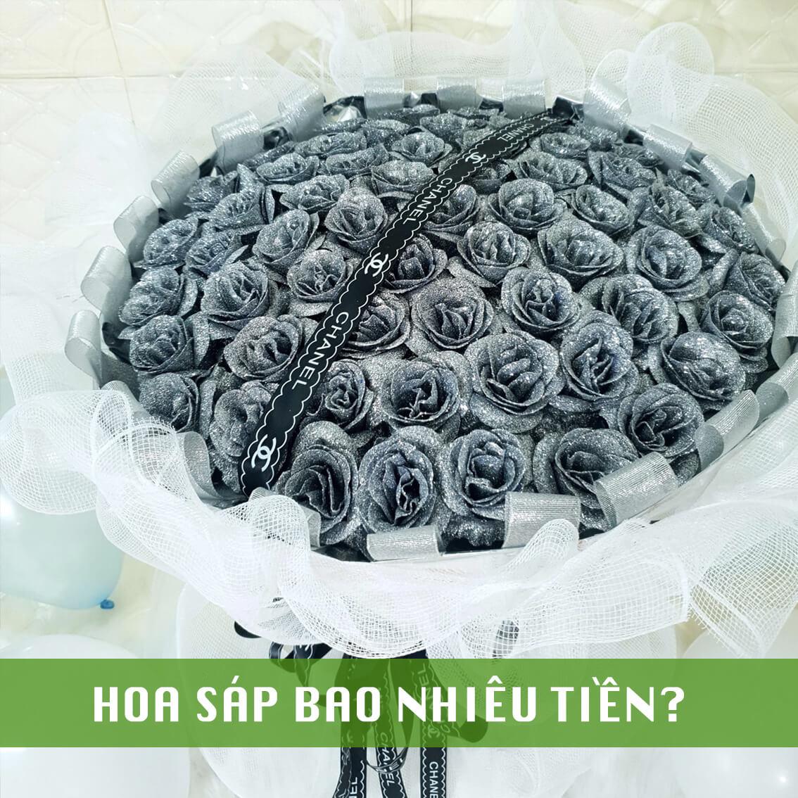 hoa sáp bao nhiêu tiền