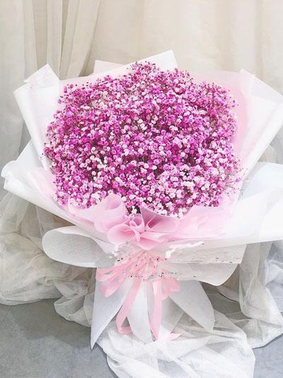 """Bó hoa baby hồng """"Thiên thần"""""""
