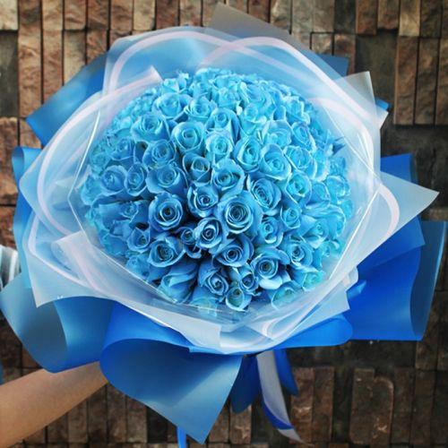 """Hoa sinh nhật """"Tình yêu xanh"""""""