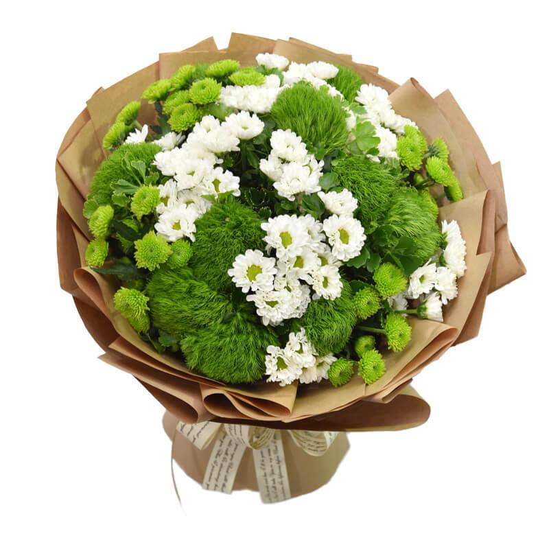 "Hoa sinh nhật ""Green Happy"""