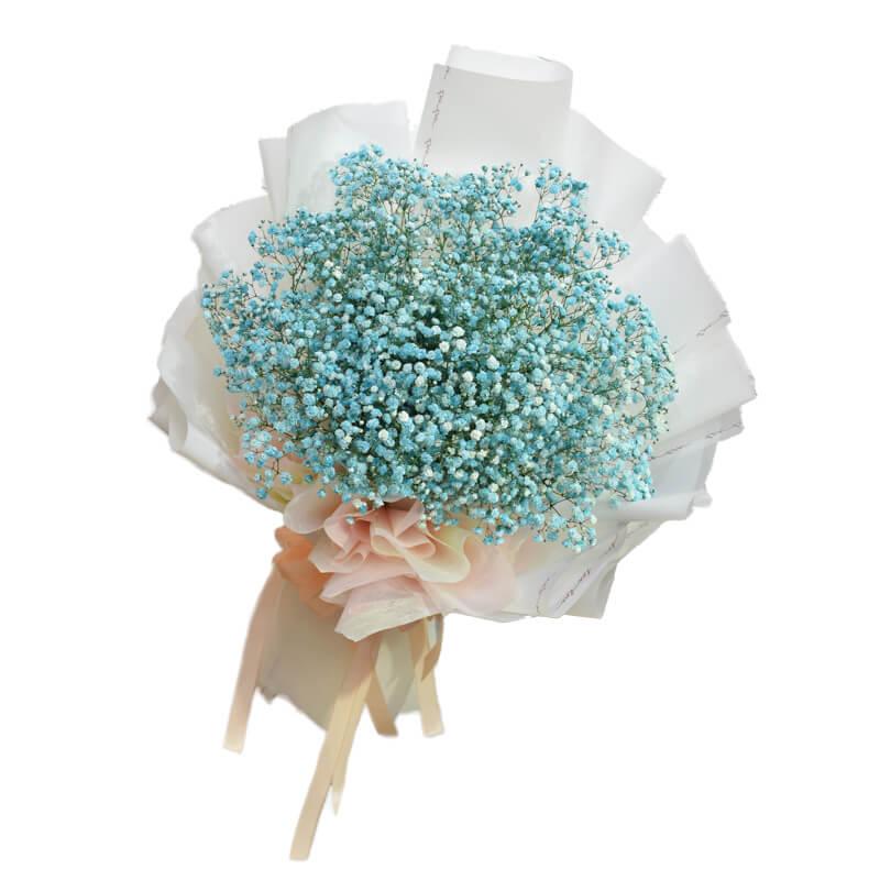 "Hoa baby tươi ""Love blue"""