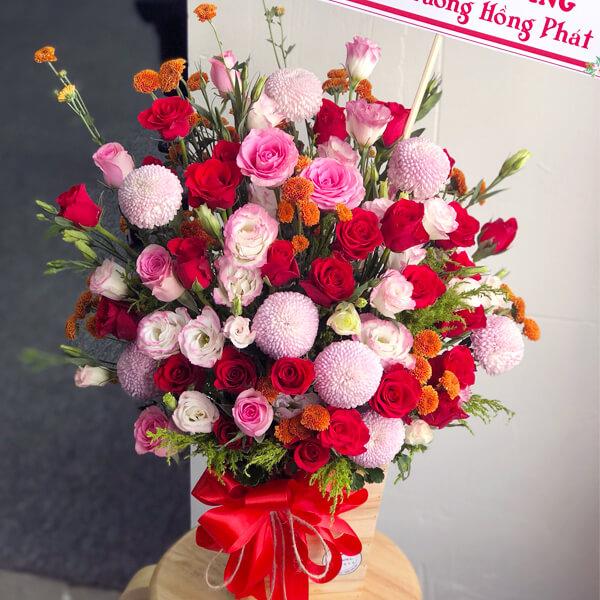 """Hoa chúc mừng """"Thuận Lợi"""""""