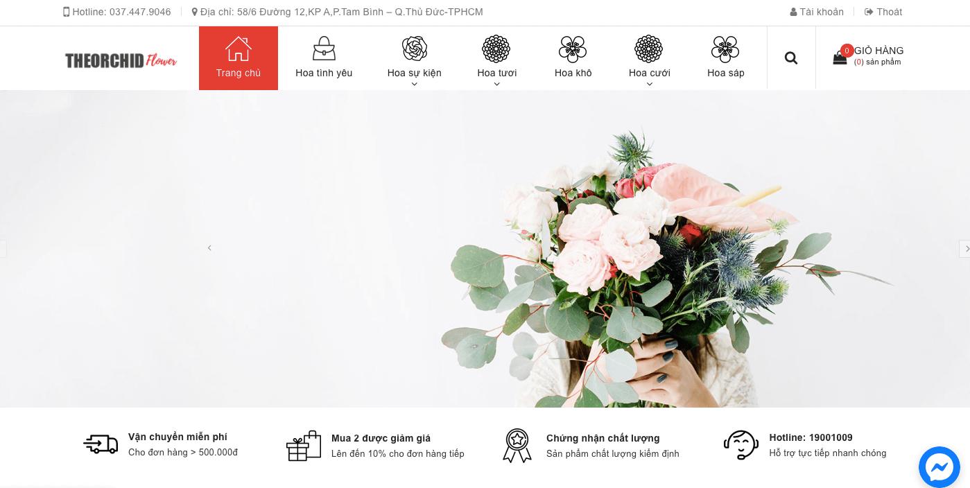 cung cấp hoa tươi đa dạng
