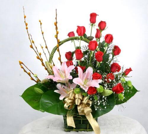 Dành tặng những bó hoa ly tươi đẹp cho người thân