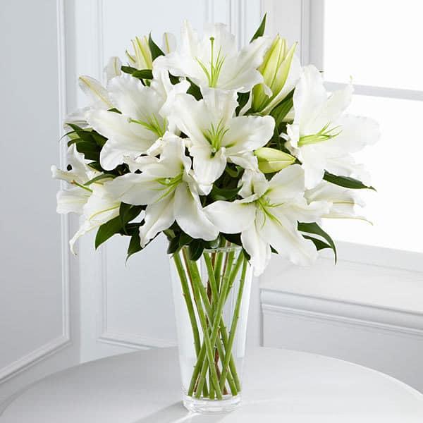Tại mỗi vùng miền khác nhau hoa ly mang biểu tượng riêng biệt