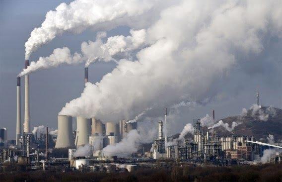 Lượng khí thải gây ô nhiễm môi trường nghiêm trọng