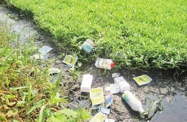 Khuyến cáo xử lý hóa chất bảo vệ thực vật